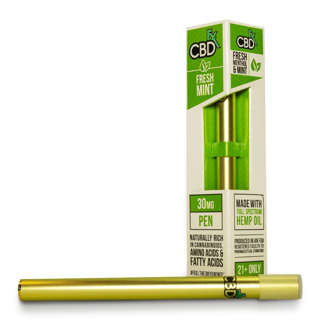 Fresh Mint CBD Vape Pen by CBDfx Review